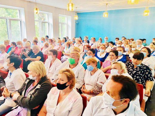 Працівникам КНП «Одеський обласний онкологічний диспансер» роз'яснено вимоги законодавства з охорони праці