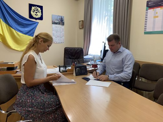Підписано Меморандум про співробітництво та партнерство між Головним управлінням Держпраці в Одеській області та Головним управлінням Державної міграційної служби України в Одеській області